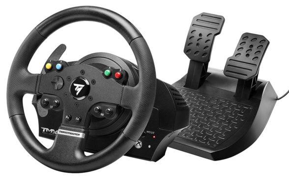 Thrustmaster TMX - rozsądna cenowo kierownica