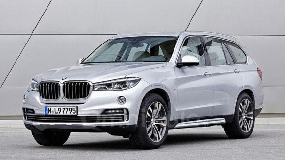 BMW X7 - wizja największego SUV'a