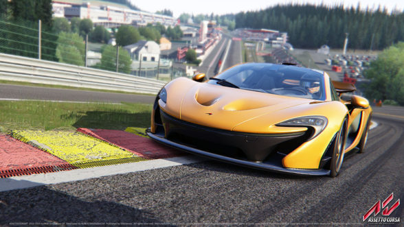 McLaren w grze Assetto Corsa