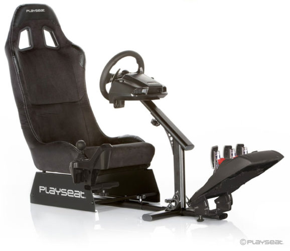 Playseat Evolution dla fanów gier samochodowych