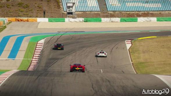 Porsche, Ferrari i McLaren na torze