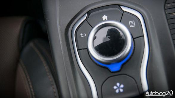 Renault Talisman Grandtour - obsługa za pomocą pokrętła