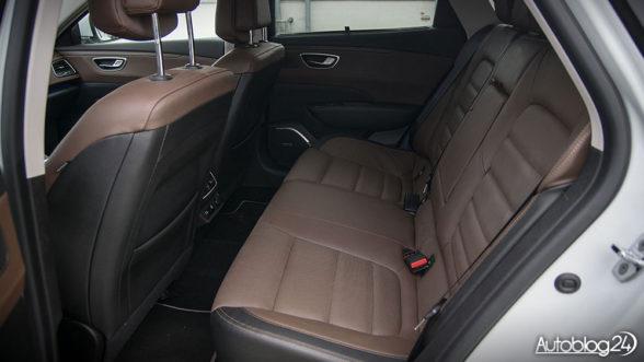 Renault Talisman Grandtour - obszerna tylna kanapa