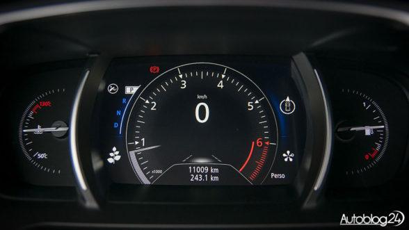 Renault Talisman Grandtour - zegary