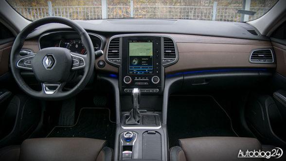 Renault Talisman Intens - wnętrze samochodu