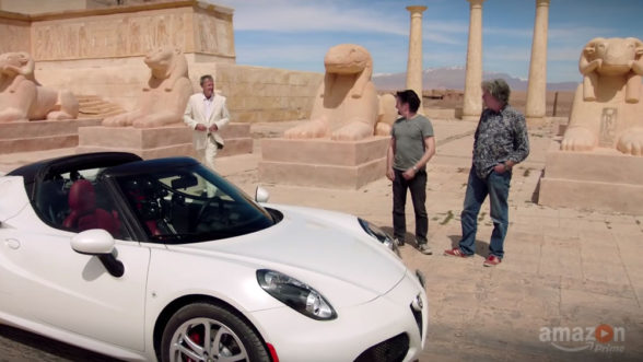 The Grand Tour - prowadzący i Alfa Romeo