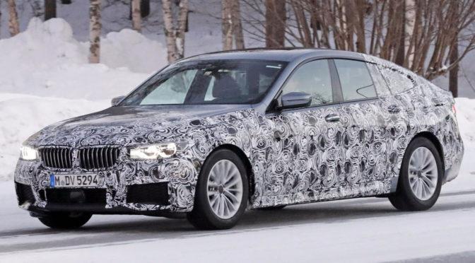 BMW Seria 6 Gran Turismo (GT) – zdjęcia szpiegowskie. W 2018 szykuje się dobra zmiana w gamie modelowej