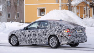 BMW Seria 6 Gran Turismo 2018 - tył
