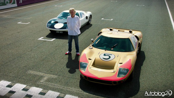 James May - Ford GT z wyścigu LeMans