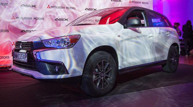 Lifting Mitsubishi ASX na 2017 rok – zmiany, ceny i zdjęcia