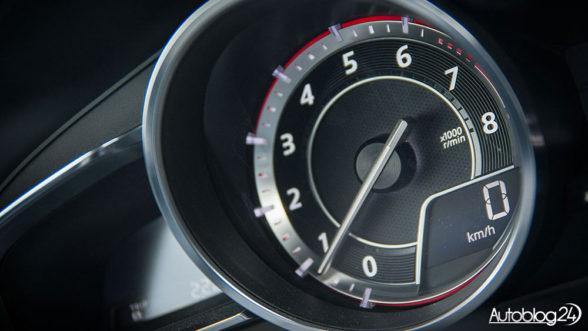 Obrotomierz - Mazda 3