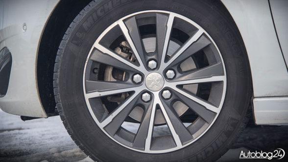 Peugeot 308 - felgi aluminiowe 16 cali
