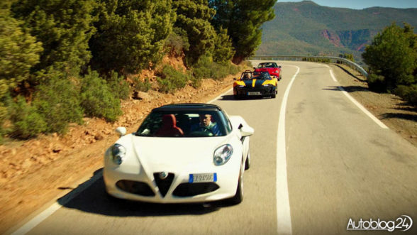 The Grand Tour - Alfa Romeo 4C Spider