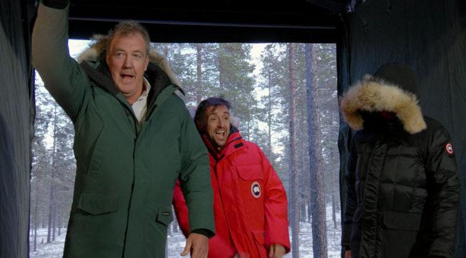 """The Grand Tour - świąteczny odcinek 6 (S01E06). """"Sponsorowany"""" przez Forda, najlepszy ze wszystkich"""