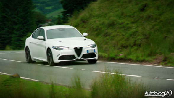 Alfa Romeo Giulia w The Grand Tour