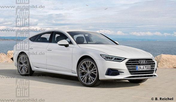 Audi A7 (2018) - wizja