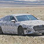 Audi A7 II generacja - przód