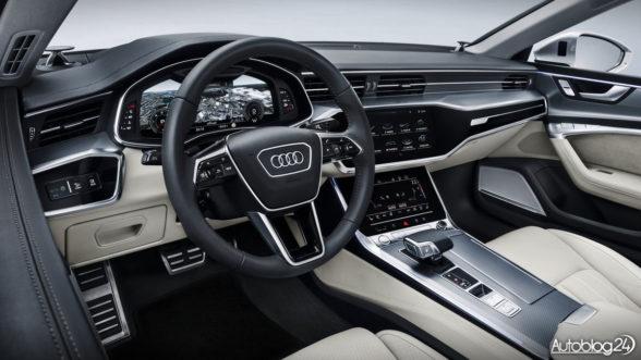 Audi A7 Sportback - wnętrze