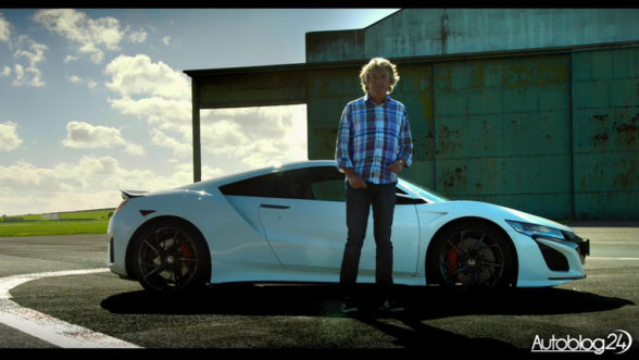 James May - Honda NSX na torze The Grand Tour