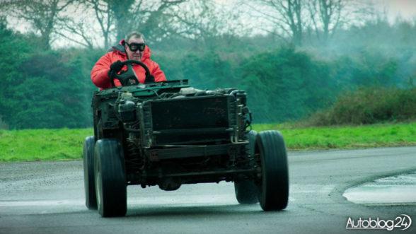 Jeremy- Clarkson za kierownicą Land Rovera