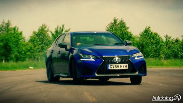Lexus GS-F - test w The Grand Tour