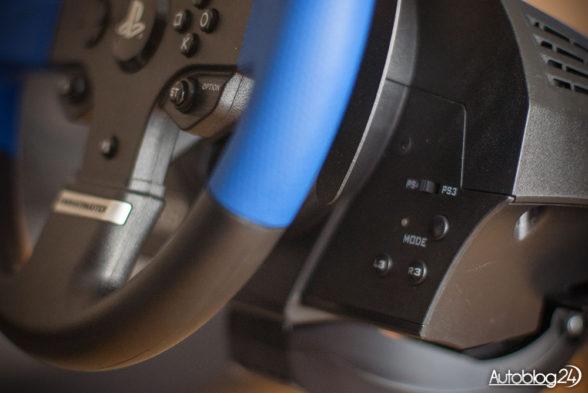 Przyciski w Thrustmaster T150