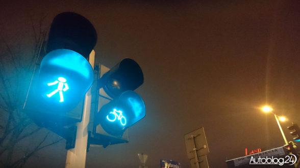 Sygnalizator dla pieszych i rowerzystów