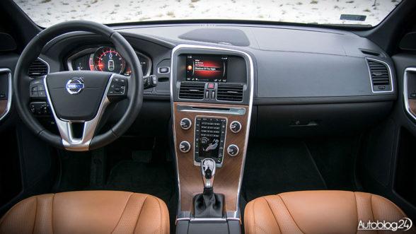 Volvo XC60 - luksusowe wnętrze