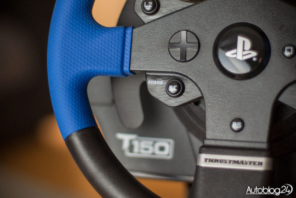 Wykonanie Thrustmaster T150