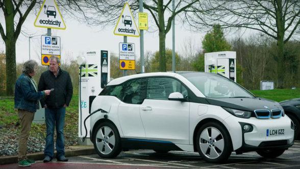 Elektryczne BMW i3 w The Grand Tour