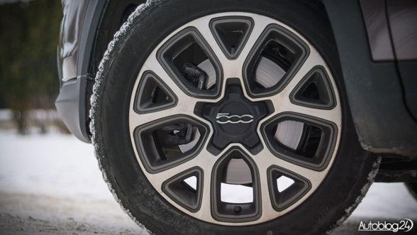 Fiat 500X Cross - felgi mają 17 cali
