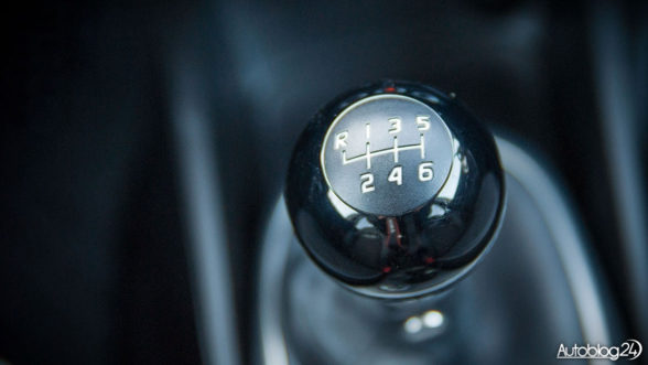 Fiat 500X - skrzynia biegów świetnie leży w dłoni