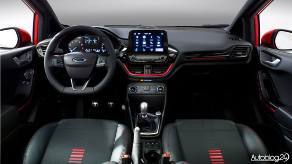 Ford Fiesta 2017 - wnętrze nowej generacji