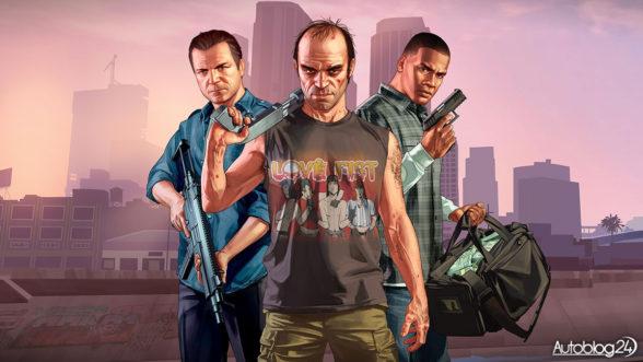 GTA5 - bohaterowie gry