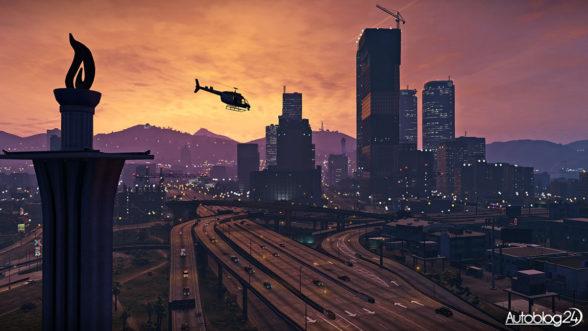 Los Santos w Grand Theft Auto