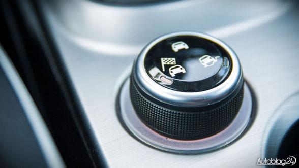 Mood Selector czyli wybór trybów jazdy - Fiat