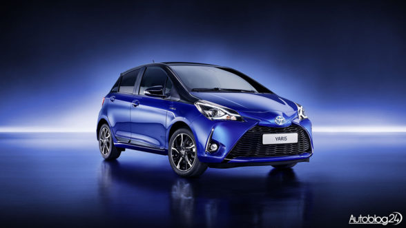 Nowa Toyota Yaris - face-lifting z 2017 roku