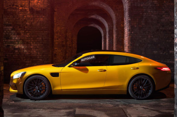 Sportowy sedan od Mercedes-AMG