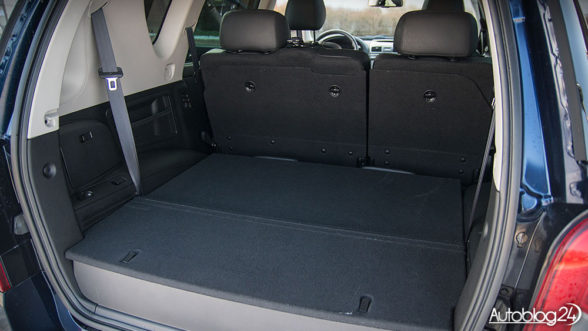 SsangYong Rexton W - bagażnik jest duży