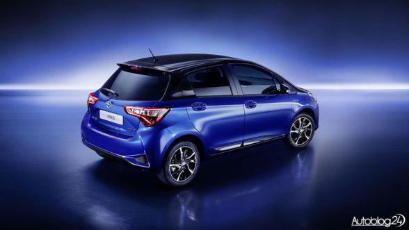 Toyota Yaris 2017 - tył