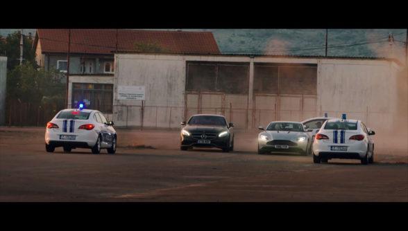 Aston Martin DB11 i Mercedes S63 AMG
