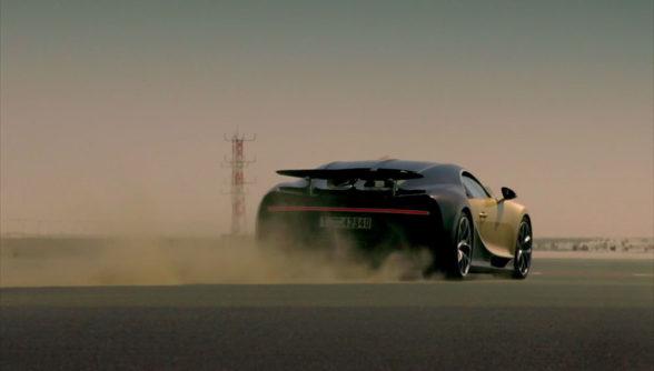 Bugatti Chiron - test w Dubaju