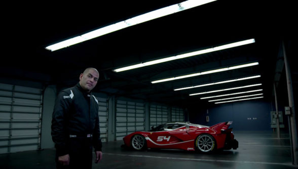 Ferrari FXXK - test Chrisa Harrisa