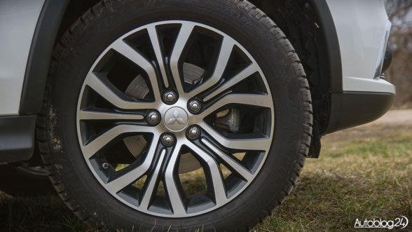 Mitsubishi ASX - felgi o rozmiarze 18 cali