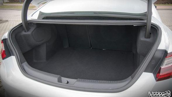 Renault Megane GrandCoupe - duży bagażnik