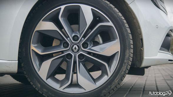 "Renault Megane GrandCoupe - 18"" felgi"