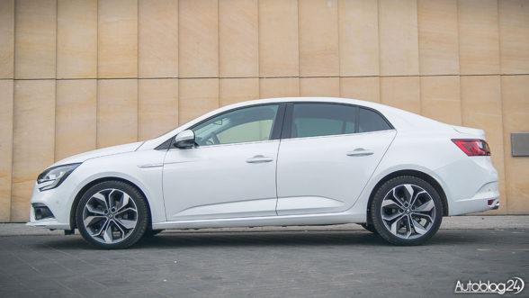 Renault Megane w nadwoziu sedan