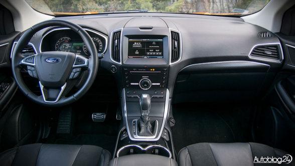 Ford Edge 2017 - wnętrze