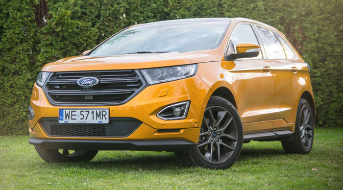 Ford Edge Sport 2,0 TDCi 210 KM PowerShift AWD. SUV z aspiracjami - TEST