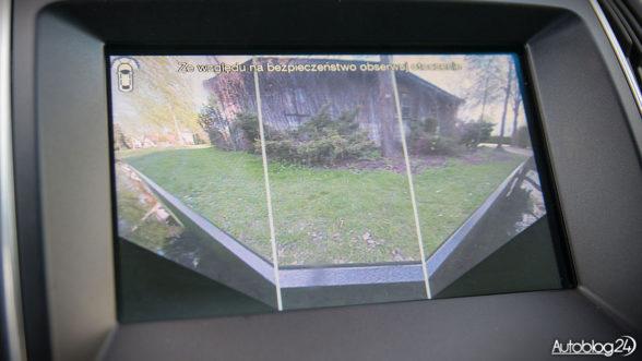 Ford Edge - kamera szerokokątna